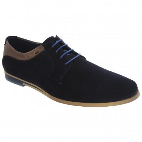 Chaussure ville AZZARO APIEU bleu
